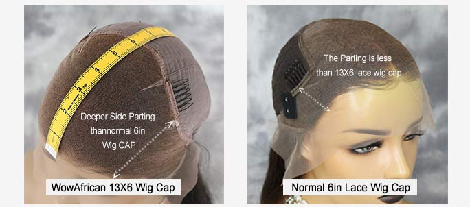 What's the Difference Between 13X6 and 6in Wig Cap?