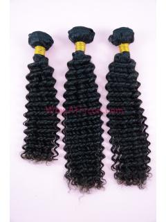Natural Color Water Wave Brazilian Virgin Hair Weave 3pcs Bundle[WB26]