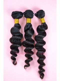 Natural Color Milan Curl Brazilian Virgin Hair Weave 3pcs Bundle[WB05]
