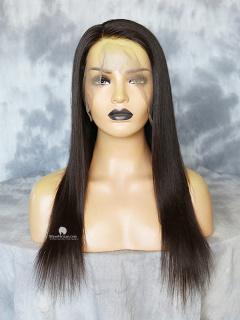 130% Density 360 Lace Wig Silky Straight Malaysian Virgin Hair [TLW41]