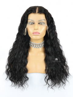 13X6in Thick Density Loose Curl Lace Front Human Virgin Wig[HW100]
