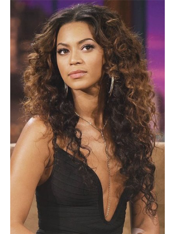 Beyonce Ombre Wavy Indian Remy Hair Lace Wig