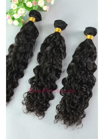 Peruvian Virgin Hair Weave 3pcs Bundle Natural Color Brazilian Curl[WB63]