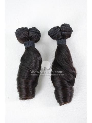 Brazilian Virgin Hair Funmi Hair Weave Spiral Curl 2pcs Bundle