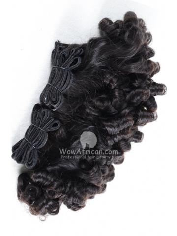 Brazilian Virgin Hair Funmi Hair Weave Bouncy Curl 2pcs Bundle