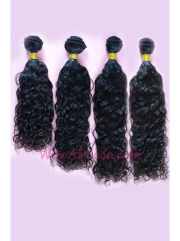 Natural Color Brazilian Curl Brazilian Virgin Hair Weave 4pcs Bundle[WB30]
