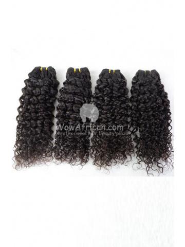 Brazilian Virgin Hair Funmi Hair Weave Afro Curl 4pcs Bundle