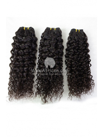 Brazilian Virgin Hair Funmi Hair Weave Afro Curl 3pcs Bundle