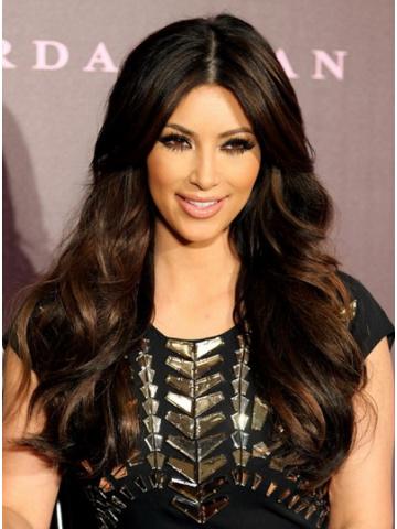 Kim Kardashian Ombre Brown Lace Wig[CLW30]