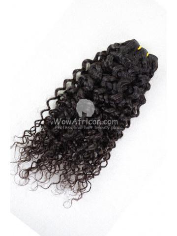 Brazilian Virgin Hair Funmi Hair Weave Afro Curl