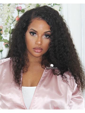 360 Frontal Wig 180% Density Deep Wave Brazilian Virgin Hair [TLW05]