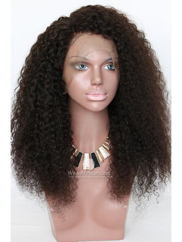 Big Hair Long Curly Virgin Brazilian Human Hair 360 Frontal Wig [TLW09]