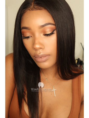 130% Density 360 Lace Wig Silky Straight Malaysian Virgin Hair [TLW41]