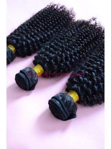 Peruvian Virgin Hair Weave 3pcs Bundle Natural Color Peruvian Curl[WB60]