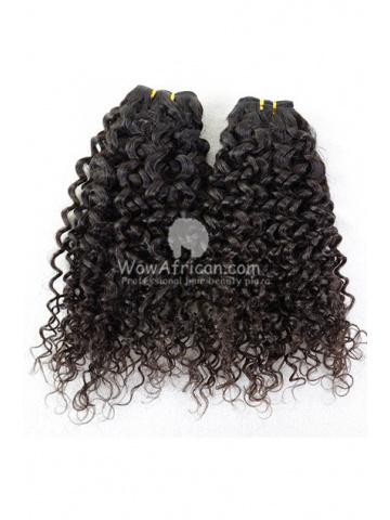 Brazilian Virgin Hair Funmi Hair Weave Afro Curl 2pcs Bundle