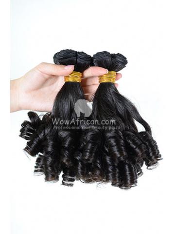 Brazilian Virgin Hair Funmi Hair Weave Romance Curl 2pcs Bundle