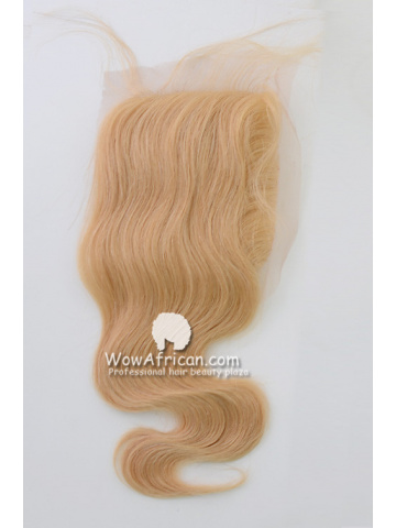 #24 Body Wave Brazilian Virgin Hair Lace Closure 4x5inches [CSL02]