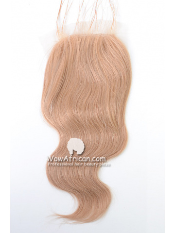 #27 Body Wave Brazilian Virgin Hair Lace Closure 4x5inches [CSL04]