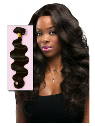 #2 Dark Brown Body Wave Indian Remy Hair Weave [WTI10]
