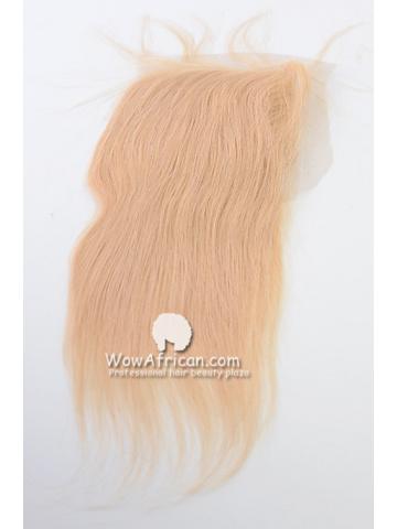 #613 Silky Straight Brazilian Virgin Hair Lace Closure 4x5inches [CSL05]