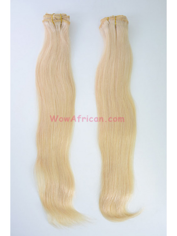 2 Packs Clip In Hair Brazilian Virgin #613 Silky Straight 8pcs[CSC12]