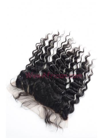 Natural Color Brazilian Wave Brazilian Virgin Hair Lace Frontal [LF26]
