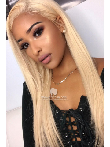 Blonde Hair Color Glueless Full Lace Wig[GFL16]