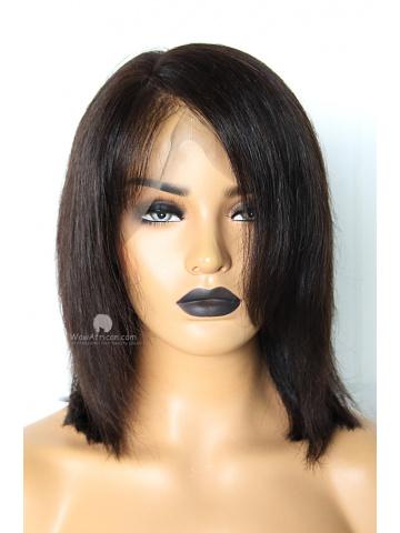 8in 180% Density Silky Straight Brazilian Virgin 360 Lace Wig[WCS108]