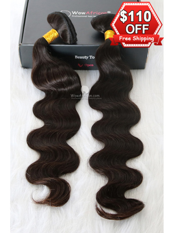 2 Packs Clip In Hair European Virgin Body Wave 8pcs[CSC11]