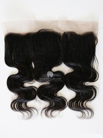 Natural Color Body Wave Brazilian Virgin Hair Lace Frontal[CSL19]