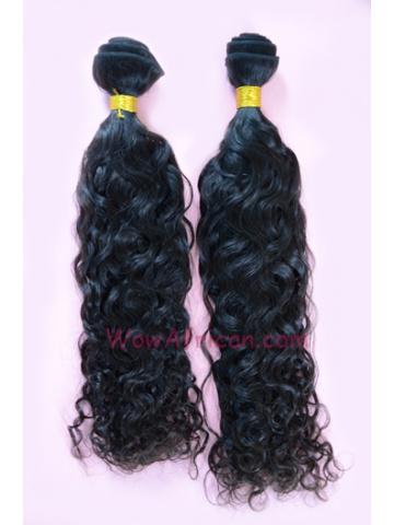 Natural Color Brazilian Curl Brazilian Virgin Hair Weave 2pcs Bundle[WB07]