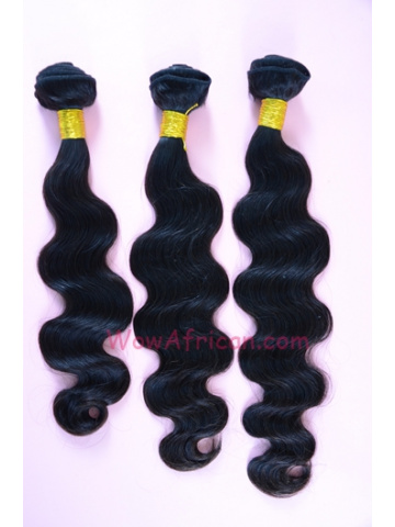 Malaysian Virgin Hair Weave 3pcs Bundle Natural Color Body Wave[WB84]