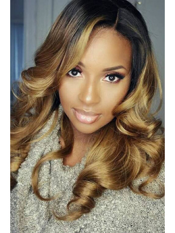 MyInvisibleChyrsalis Style Ombre Blond Hair Lace Wig [CLW10M]