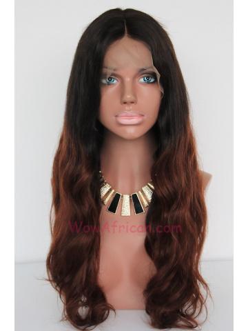 Celebrity Brazilian Virgin Wavy Lace Wig[CLW07]
