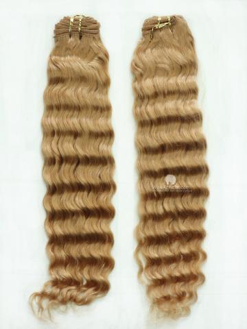#27 Deep Wave Brazilian Hair Weave 2pcs Bundle[CS07]