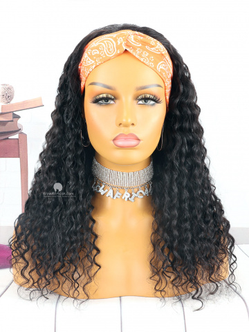 360 Frontal Wig 180% Density Deep Wave Brazilian Virgin Hair [TLW05]