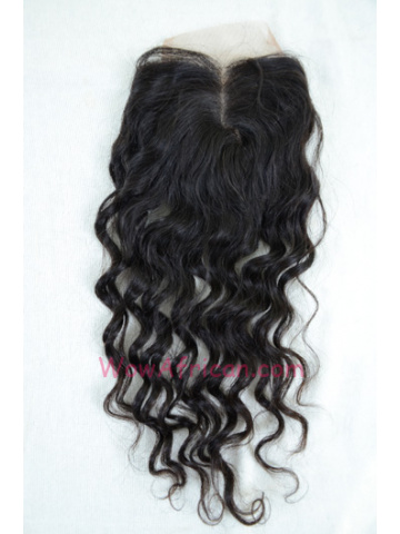 Middle Part Lace Closure Brazilian Wave Brazilian Virgin Hair [MC07]