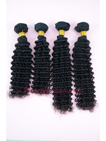 European Virgin Hair Weave Natural Color Water Wave 4pcs Bundle[WB220]