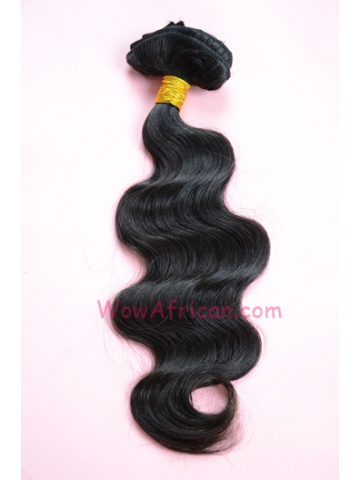 04Natural Color 8Pcs Body Wave Brazilian Virgin Hair Clip In Hair Extensions[CPB08]