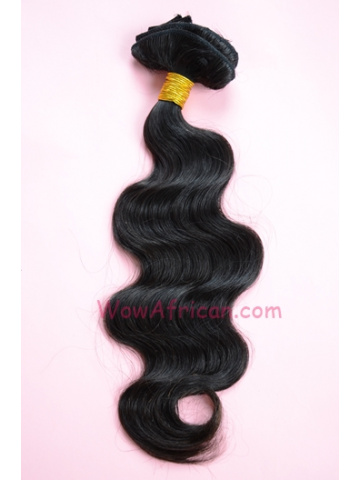 03Natural Color Body Wave Brazilian Virgin Clip In Hair Extensions[CPC03]