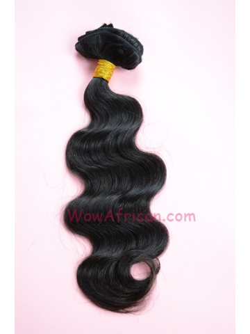 Natural Color Body Wave European Virgin Hair Weave [WTE03]