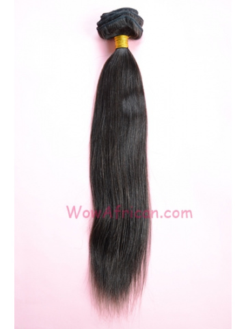 01#2 Dark Brown 10Pcs Yaki Straight Indian Remy Hair Clip In Hair Extensions[CPI07]