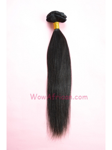 Natural Color Yaki Straight European Virgin Hair Weave [WTE02]
