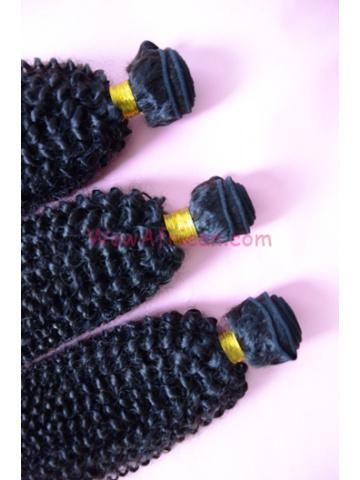 Natural Color Peruvian Curl Brazilian Virgin Hair Weave 3pcs Bundle[WB22]