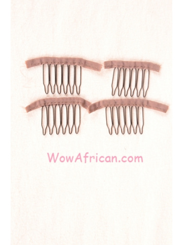 4pcs Small Metal Wig Combs[HA02]