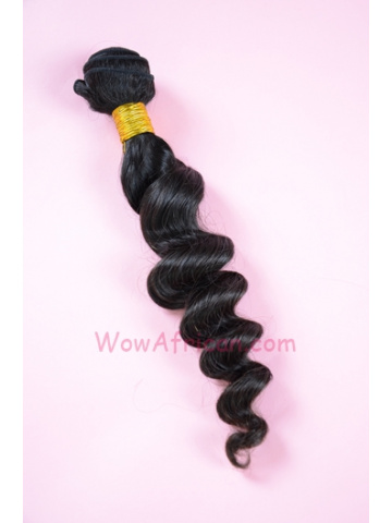 Natural Color Milan Curl Brazilian Virgin Hair Weave[WTB08]