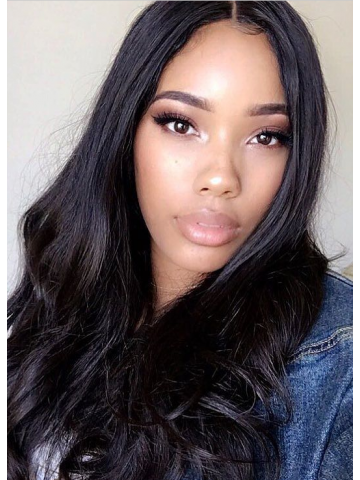 Pre-plucked Straight Brazilian Virgin Hair Full Lace Wigs[Bryana011]