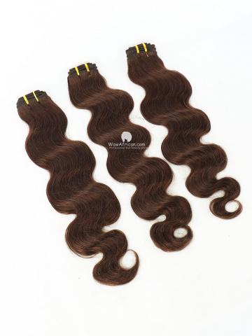 #2 Dark Brown Body Wave Indian Hair Weave 3pcs Bundles[CS37]