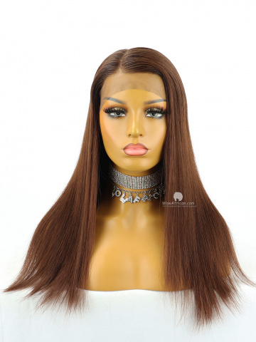 10in Ombre Straight Bob Lace Front Lace Wigs Brazilian Hair [MS225]