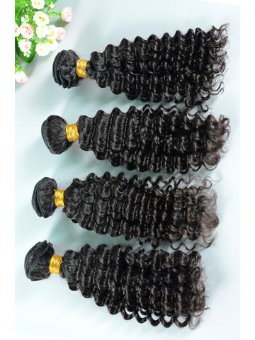 Peruvian Virgin Hair Weave 3pcs Bundle Natural Color Water Wave[WB62]